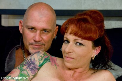 Photo number 15 from Kylie gets triple banged  shot for Everything Butt on Kink.com. Featuring Mark Davis and Kylie Ireland in hardcore BDSM & Fetish porn.