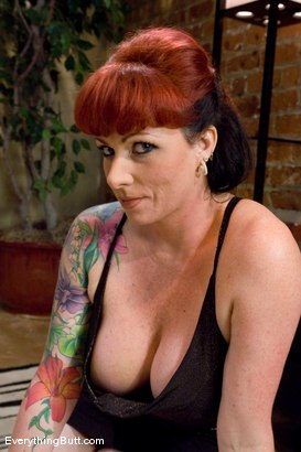 Photo number 2 from Kylie gets triple banged  shot for Everything Butt on Kink.com. Featuring Mark Davis and Kylie Ireland in hardcore BDSM & Fetish porn.
