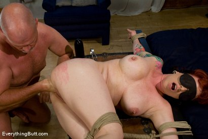 Photo number 14 from Kylie gets triple banged  shot for Everything Butt on Kink.com. Featuring Mark Davis and Kylie Ireland in hardcore BDSM & Fetish porn.