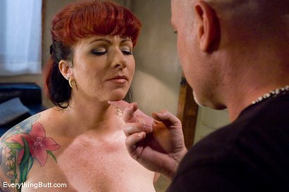 Photo number 3 from Kylie gets triple banged  shot for Everything Butt on Kink.com. Featuring Mark Davis and Kylie Ireland in hardcore BDSM & Fetish porn.