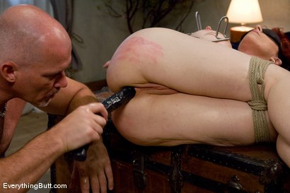 Photo number 9 from Kylie gets triple banged  shot for Everything Butt on Kink.com. Featuring Mark Davis and Kylie Ireland in hardcore BDSM & Fetish porn.