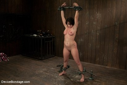 Photo number 6 from Britney Stevens   Doesn't understand why we are hitting her, and not fucking her. shot for Device Bondage on Kink.com. Featuring Britney Stevens in hardcore BDSM & Fetish porn.