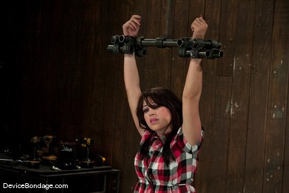Photo number 1 from Britney Stevens<br> Doesn't understand why we are hitting her, and not fucking her. shot for Device Bondage on Kink.com. Featuring Britney Stevens in hardcore BDSM & Fetish porn.