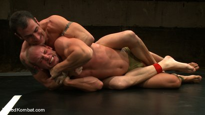 Photo number 8 from Spencer Reed vs Patrick Rouge shot for Naked Kombat on Kink.com. Featuring Patrick Rouge and Spencer Reed in hardcore BDSM & Fetish porn.