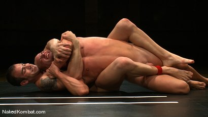 Photo number 10 from Spencer Reed vs Patrick Rouge shot for Naked Kombat on Kink.com. Featuring Patrick Rouge and Spencer Reed in hardcore BDSM & Fetish porn.