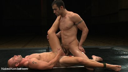 Photo number 12 from Spencer Reed vs Patrick Rouge shot for Naked Kombat on Kink.com. Featuring Patrick Rouge and Spencer Reed in hardcore BDSM & Fetish porn.