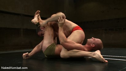 Photo number 2 from Spencer Reed vs Patrick Rouge shot for Naked Kombat on Kink.com. Featuring Patrick Rouge and Spencer Reed in hardcore BDSM & Fetish porn.