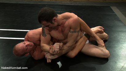 Photo number 5 from Spencer Reed vs Patrick Rouge shot for Naked Kombat on Kink.com. Featuring Patrick Rouge and Spencer Reed in hardcore BDSM & Fetish porn.