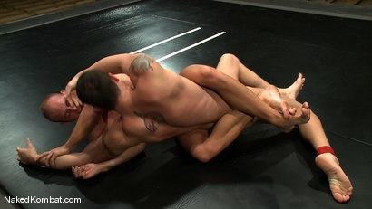 Photo number 7 from Spencer Reed vs Patrick Rouge shot for Naked Kombat on Kink.com. Featuring Patrick Rouge and Spencer Reed in hardcore BDSM & Fetish porn.