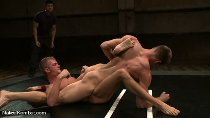 Photo number 7 from Shane Erickson vs Jake Woods shot for Naked Kombat on Kink.com. Featuring Shane Erickson and Jake Woods in hardcore BDSM & Fetish porn.