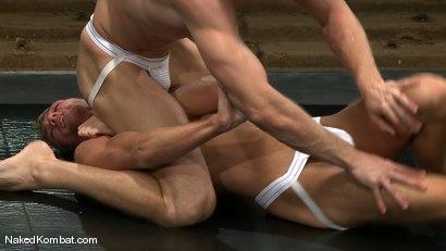 Photo number 3 from Shane Erickson vs Jake Woods shot for Naked Kombat on Kink.com. Featuring Shane Erickson and Jake Woods in hardcore BDSM & Fetish porn.