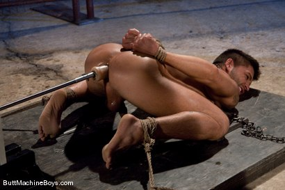 Photo number 13 from Dominic Pacifico and the Ass Master shot for Butt Machine Boys on Kink.com. Featuring Dominic Pacifico in hardcore BDSM & Fetish porn.