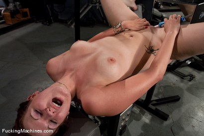 Photo number 14 from AMATEUR GIRL FRIDAY  <BR> KAYDENCE KATCHINGS shot for Fucking Machines on Kink.com. Featuring Kaydence Katchings in hardcore BDSM & Fetish porn.