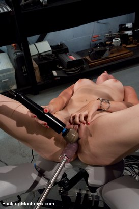 Photo number 13 from AMATEUR GIRL FRIDAY  <BR> KAYDENCE KATCHINGS shot for Fucking Machines on Kink.com. Featuring Kaydence Katchings in hardcore BDSM & Fetish porn.