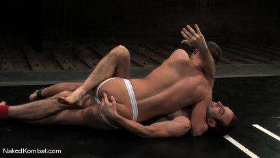 Photo number 5 from Jason Miller vs Dustin Michaels shot for nakedkombat on Kink.com. Featuring Dustin Michaels and Jason Miller in hardcore BDSM & Fetish porn.
