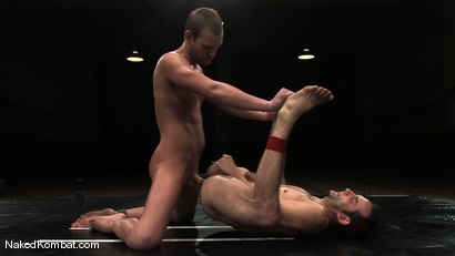 Photo number 15 from Jason Miller vs Dustin Michaels shot for Naked Kombat on Kink.com. Featuring Dustin Michaels and Jason Miller in hardcore BDSM & Fetish porn.