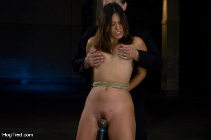 Photo number 9 from Amateur Casting Couch: Thea Marie... stripper/porn star, new bondage slut shot for Hogtied on Kink.com. Featuring Thea Marie in hardcore BDSM & Fetish porn.