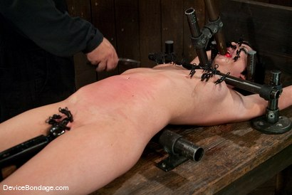Photo number 11 from Cherry Torn   On the rack! shot for Device Bondage on Kink.com. Featuring Cherry Torn in hardcore BDSM & Fetish porn.