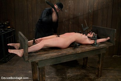 Photo number 12 from Cherry Torn   On the rack! shot for Device Bondage on Kink.com. Featuring Cherry Torn in hardcore BDSM & Fetish porn.