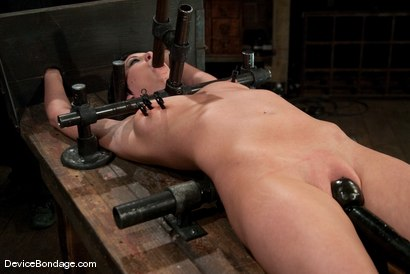Photo number 9 from Cherry Torn<br> On the rack! shot for Device Bondage on Kink.com. Featuring Cherry Torn in hardcore BDSM & Fetish porn.