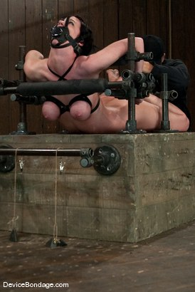 Photo number 12 from Cherry Torn<br> Hogtied and made to cum so much and so hard that it brings tears. shot for Device Bondage on Kink.com. Featuring Cherry Torn in hardcore BDSM & Fetish porn.