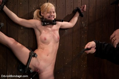 Photo number 4 from Ally Ann<br> 19yr olds, and getting fucked by a machine. shot for Device Bondage on Kink.com. Featuring Ally Ann in hardcore BDSM & Fetish porn.