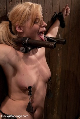 Photo number 7 from Ally Ann<br> 19yr olds, and getting fucked by a machine. shot for Device Bondage on Kink.com. Featuring Ally Ann in hardcore BDSM & Fetish porn.