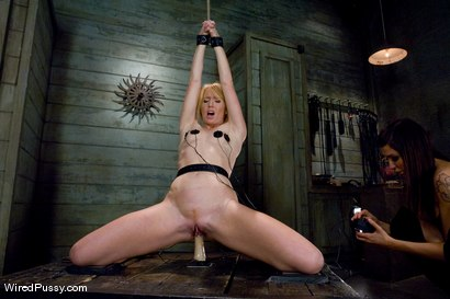 Photo number 9 from WEEKEND BONUS: Ami Emerson pushed to her limits shot for Wired Pussy on Kink.com. Featuring Ami Emerson and Princess Donna Dolore in hardcore BDSM & Fetish porn.