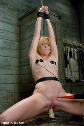 Photo number 8 from WEEKEND BONUS: Ami Emerson pushed to her limits shot for Wired Pussy on Kink.com. Featuring Ami Emerson and Princess Donna Dolore in hardcore BDSM & Fetish porn.