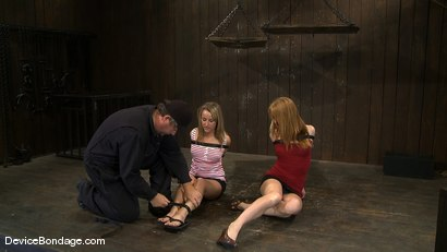 Photo number 1 from Jessie Cox, Ami Emerson, and Isis Love <br>Part 1 of 4 of the September Live Feed shot for Device Bondage on Kink.com. Featuring Isis Love, Jessie Cox and Ami Emerson in hardcore BDSM & Fetish porn.