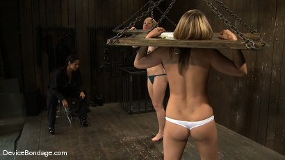 Photo number 7 from Jessie Cox, Ami Emerson, and Isis Love <br>Part 1 of 4 of the September Live Feed shot for Device Bondage on Kink.com. Featuring Isis Love, Jessie Cox and Ami Emerson in hardcore BDSM & Fetish porn.