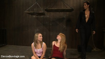 Photo number 2 from Jessie Cox, Ami Emerson, and Isis Love <br>Part 1 of 4 of the September Live Feed shot for Device Bondage on Kink.com. Featuring Isis Love, Jessie Cox and Ami Emerson in hardcore BDSM & Fetish porn.