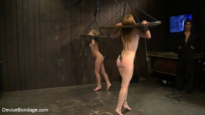 Photo number 15 from Jessie Cox, Ami Emerson, and Isis Love <br>Part 1 of 4 of the September Live Feed shot for Device Bondage on Kink.com. Featuring Isis Love, Jessie Cox and Ami Emerson in hardcore BDSM & Fetish porn.