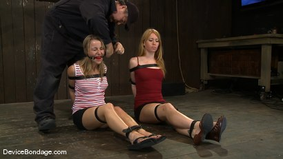 Photo number 3 from Jessie Cox, Ami Emerson, and Isis Love <br>Part 1 of 4 of the September Live Feed shot for Device Bondage on Kink.com. Featuring Isis Love, Jessie Cox and Ami Emerson in hardcore BDSM & Fetish porn.
