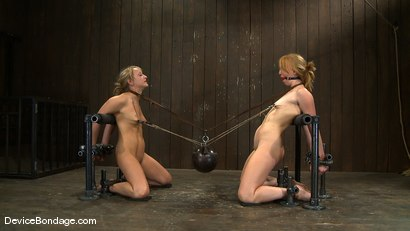 Photo number 14 from Jessie Cox, Ami Emerson, and Isis Love<br> Part 3 of 4 of the September Live Feed shot for Device Bondage on Kink.com. Featuring Isis Love, Jessie Cox and Ami Emerson in hardcore BDSM & Fetish porn.