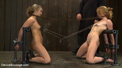 Photo number 5 from Jessie Cox, Ami Emerson, and Isis Love<br> Part 3 of 4 of the September Live Feed shot for Device Bondage on Kink.com. Featuring Isis Love, Jessie Cox and Ami Emerson in hardcore BDSM & Fetish porn.