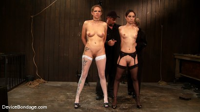 Photo number 1 from Amber Rayne, Rain DeGrey, and Ariel X  Part 1 of 4 of the October Live show shot for devicebondage on Kink.com. Featuring Amber Rayne, Ariel X and Rain DeGrey in hardcore BDSM & Fetish porn.