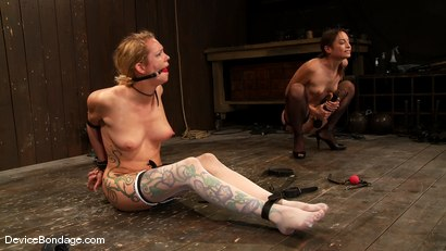 Photo number 5 from Amber Rayne, Rain DeGrey, and Ariel X  Part 1 of 4 of the October Live show shot for devicebondage on Kink.com. Featuring Amber Rayne, Ariel X and Rain DeGrey in hardcore BDSM & Fetish porn.