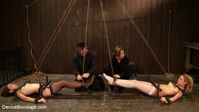 Photo number 6 from Amber Rayne, Rain DeGrey, and Ariel X  Part 1 of 4 of the October Live show shot for devicebondage on Kink.com. Featuring Amber Rayne, Ariel X and Rain DeGrey in hardcore BDSM & Fetish porn.