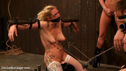 Photo number 12 from Amber Rayne, Rain DeGrey, and Ariel X   Part 3 of 4 of the October Live show shot for Device Bondage on Kink.com. Featuring Amber Rayne, Ariel X and Rain DeGrey in hardcore BDSM & Fetish porn.