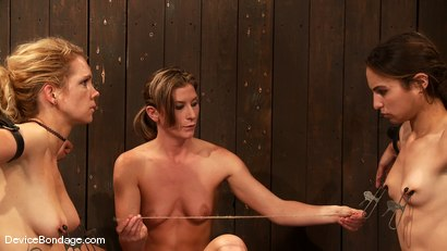 Photo number 2 from Amber Rayne, Rain DeGrey, and Ariel X   Part 3 of 4 of the October Live show shot for Device Bondage on Kink.com. Featuring Amber Rayne, Ariel X and Rain DeGrey in hardcore BDSM & Fetish porn.