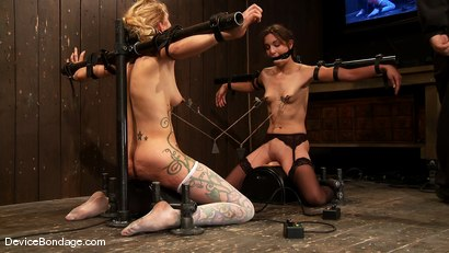 Photo number 5 from Amber Rayne, Rain DeGrey, and Ariel X   Part 3 of 4 of the October Live show shot for Device Bondage on Kink.com. Featuring Amber Rayne, Ariel X and Rain DeGrey in hardcore BDSM & Fetish porn.