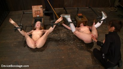 Photo number 15 from Ashley Jane, Ally Ann, and Princess Donna<br> Part 1 of 4 of the November Live show shot for Device Bondage on Kink.com. Featuring Ally Ann, Princess Donna Dolore and Ashley Jane in hardcore BDSM & Fetish porn.