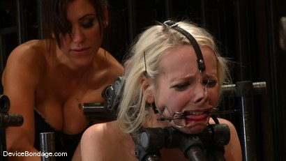 Photo number 11 from Ashley Jane, Ally Ann, and Princess Donna<br> Part 2 of 4 of the November Live show shot for Device Bondage on Kink.com. Featuring Ally Ann, Princess Donna Dolore and Ashley Jane in hardcore BDSM & Fetish porn.