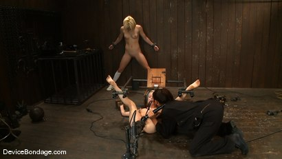 Photo number 3 from Ashley Jane, Ally Ann, and Princess Donna<br> Part 2 of 4 of the November Live show shot for Device Bondage on Kink.com. Featuring Ally Ann, Princess Donna Dolore and Ashley Jane in hardcore BDSM & Fetish porn.