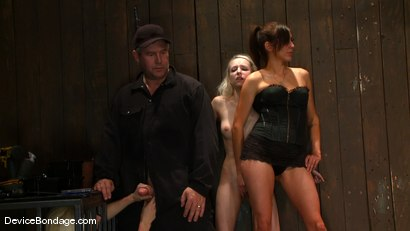 Photo number 2 from Ashley Jane, Ally Ann, and Princess Donna<br> Part 3 of 4 of the November Live show shot for Device Bondage on Kink.com. Featuring Princess Donna Dolore, Ally Ann and Ashley Jane in hardcore BDSM & Fetish porn.
