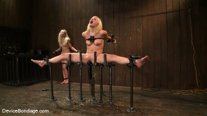 Photo number 14 from Ashley Jane, Ally Ann, and Princess Donna<br> Part 3 of 4 of the November Live show shot for Device Bondage on Kink.com. Featuring Princess Donna Dolore, Ally Ann and Ashley Jane in hardcore BDSM & Fetish porn.