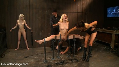 Photo number 7 from Ashley Jane, Ally Ann, and Princess Donna<br> Part 3 of 4 of the November Live show shot for Device Bondage on Kink.com. Featuring Princess Donna Dolore, Ally Ann and Ashley Jane in hardcore BDSM & Fetish porn.