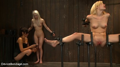 Photo number 8 from Ashley Jane, Ally Ann, and Princess Donna<br> Part 3 of 4 of the November Live show shot for Device Bondage on Kink.com. Featuring Princess Donna Dolore, Ally Ann and Ashley Jane in hardcore BDSM & Fetish porn.