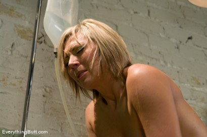 Photo number 7 from Anal Audition: Skylar sweats through a hot soapy enema shot for Everything Butt on Kink.com. Featuring Skylar Price in hardcore BDSM & Fetish porn.
